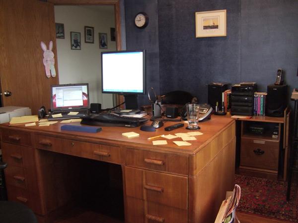Desk in Action